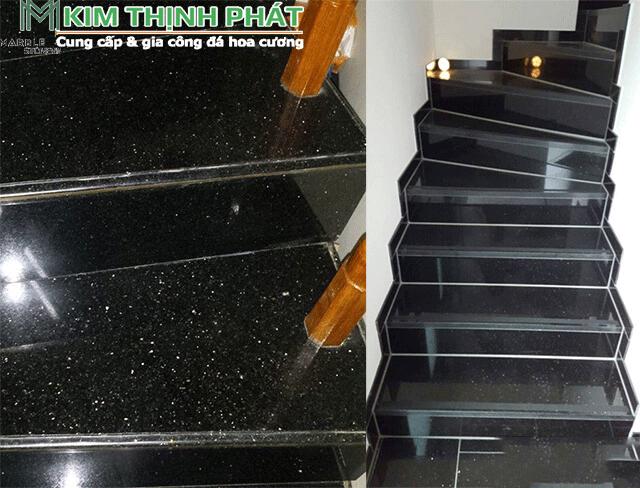 cầu thang đá kim sa trung