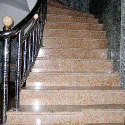 Đá ốp cầu thang đỏ Bình Định