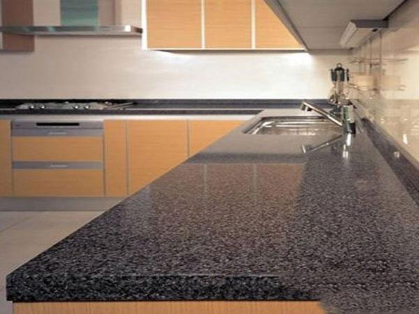 Bàn bếp đá Granite đen Phú Yên