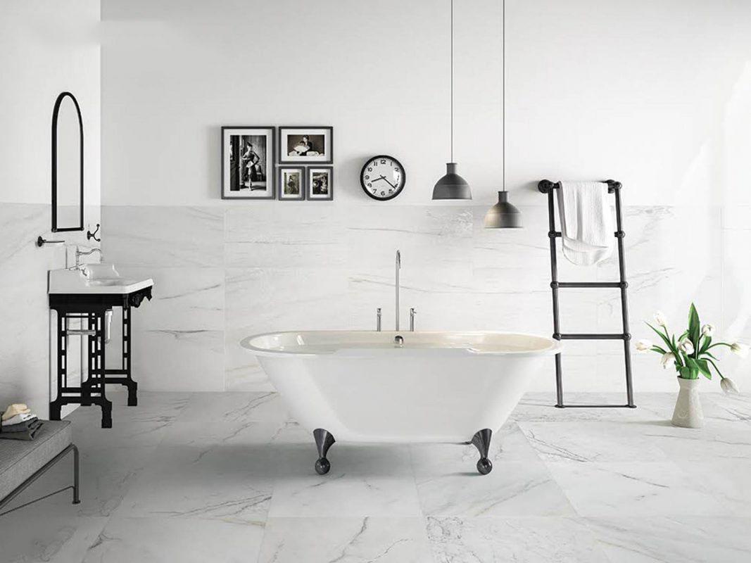 Đá Marble trong nhà tắm
