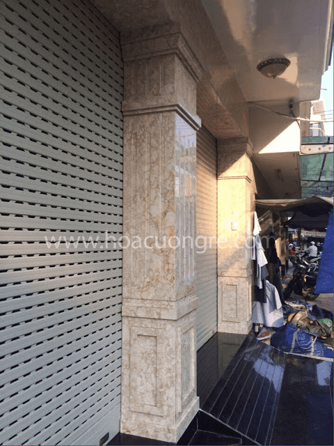 Mẫu cột nhà hình vuông Granite