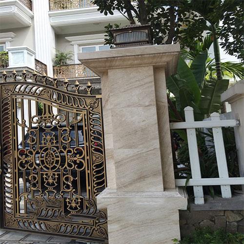 Cột nhà hình Vuông