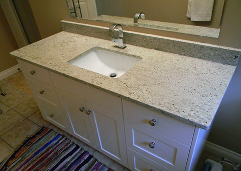 Lavabo Bàn bếp Đá Granite trắng Kashmir