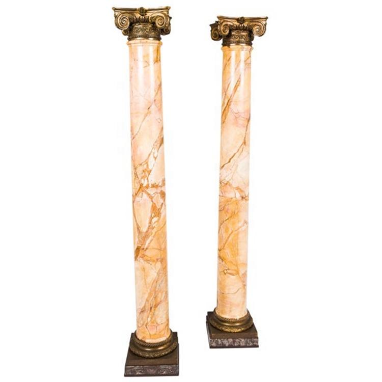 Cột tròn đá hoa cương