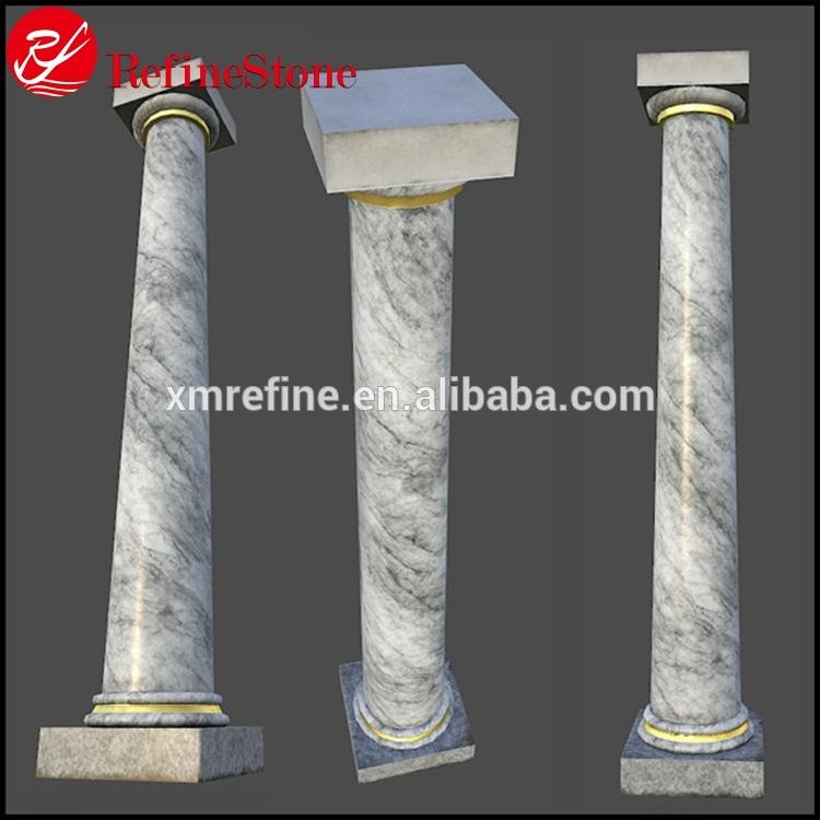 đá ốp cột tròn